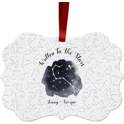 Zodiac Constellations Ornament (Personalized)