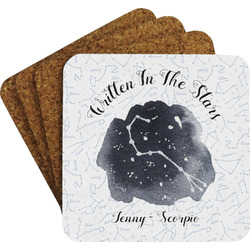 Zodiac Constellations Coaster Set (Personalized)