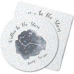 Zodiac Constellations Rubber Backed Coaster (Personalized)
