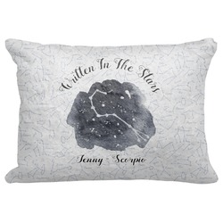 "Zodiac Constellations Decorative Baby Pillowcase - 16""x12"" (Personalized)"