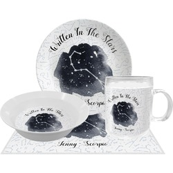 Zodiac Constellations Dinner Set - 4 Pc (Personalized)