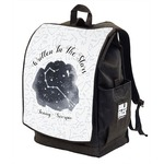 Zodiac Constellations Backpack w/ Front Flap  (Personalized)