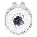 Zodiac Constellations Golf Ball Marker - Hat Clip - Silver