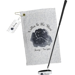 Zodiac Constellations Golf Towel Gift Set (Personalized)