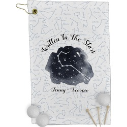 Zodiac Constellations Golf Towel - Full Print (Personalized)
