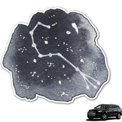 Zodiac Constellations Graphic Car Decal (Personalized)