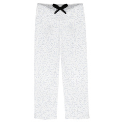 Zodiac Constellations Mens Pajama Pants (Personalized)