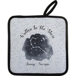 Zodiac Constellations Pot Holder w/ Name or Text