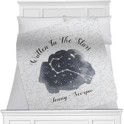 Zodiac Constellations Minky Blanket (Personalized)