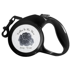 Zodiac Constellations Retractable Dog Leash (Personalized)