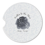 Zodiac Constellations Sandstone Car Coasters (Personalized)