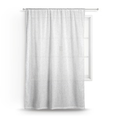 Zodiac Constellations Sheer Curtains (Personalized)