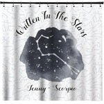 Zodiac Constellations Shower Curtain (Personalized)