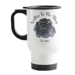 Zodiac Constellations Stainless Steel Travel Mug with Handle
