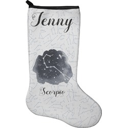 Zodiac Constellations Christmas Stocking - Neoprene (Personalized)
