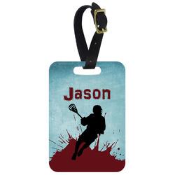 Lacrosse Aluminum Luggage Tag (Personalized)
