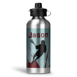 Lacrosse Water Bottle - Aluminum - 20 oz (Personalized)