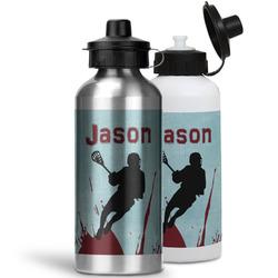 Lacrosse Water Bottles- Aluminum (Personalized)