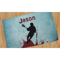 Lacrosse Area Rug (Personalized)