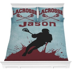 Lacrosse Comforter Set (Personalized)