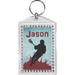 Lacrosse Bling Keychain (Personalized)