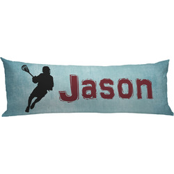 Lacrosse Body Pillow Case (Personalized)