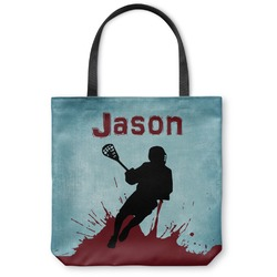 Lacrosse Canvas Tote Bag (Personalized)