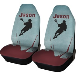 Lacrosse Car Seat Covers (Set of Two) (Personalized)