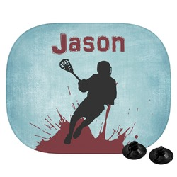 Lacrosse Car Side Window Sun Shade (Personalized)
