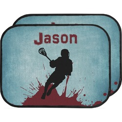 Lacrosse Car Floor Mats (Back Seat) (Personalized)