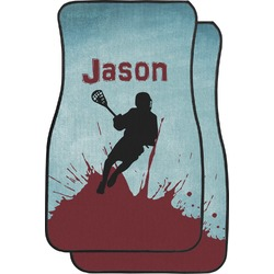 Lacrosse Car Floor Mats (Front Seat) (Personalized)