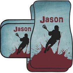 Lacrosse Car Floor Mats Set - 2 Front & 2 Back (Personalized)