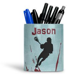 Lacrosse Ceramic Pen Holder