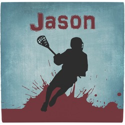 Lacrosse Ceramic Tile Hot Pad (Personalized)