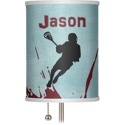 """Lacrosse 7"""" Drum Lamp Shade (Personalized)"""
