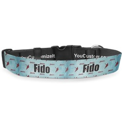 "Lacrosse Deluxe Dog Collar - Large (13"" to 21"") (Personalized)"