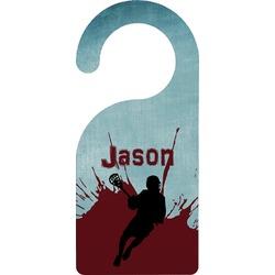 Lacrosse Door Hanger (Personalized)
