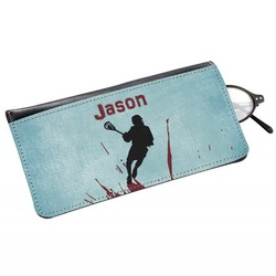Lacrosse Genuine Leather Eyeglass Case (Personalized)