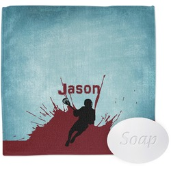 Lacrosse Wash Cloth (Personalized)