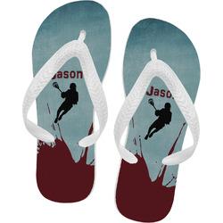 Lacrosse Flip Flops (Personalized)