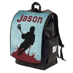 Lacrosse Backpack w/ Front Flap  (Personalized)