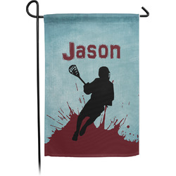 Lacrosse Garden Flag - Single or Double Sided (Personalized)