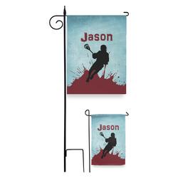 Lacrosse Garden Flag (Personalized)