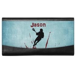 Lacrosse Genuine Leather Ladies Wallet (Personalized)