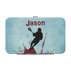 Lacrosse Genuine Leather Small Framed Wallet (Personalized)