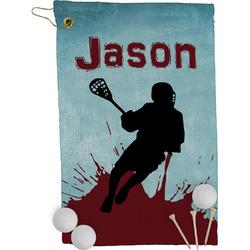 Lacrosse Golf Towel - Full Print (Personalized)