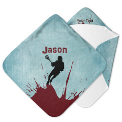 Lacrosse Hooded Baby Towel (Personalized)