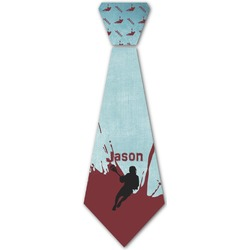 Lacrosse Iron On Tie (Personalized)