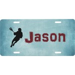 Lacrosse Front License Plate (Personalized)