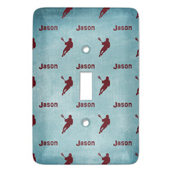 Lacrosse Light Switch Covers (Personalized)